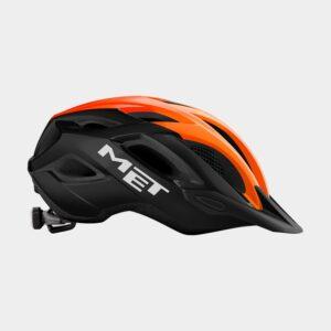 Cykelhjälm MET Crossover Black Orange/Glossy, X-Large (60 - 64 cm)