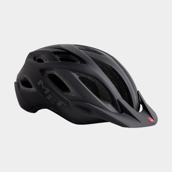 Cykelhjälm MET Crossover Shaded Black/Matt, X-Large (60 - 64 cm)