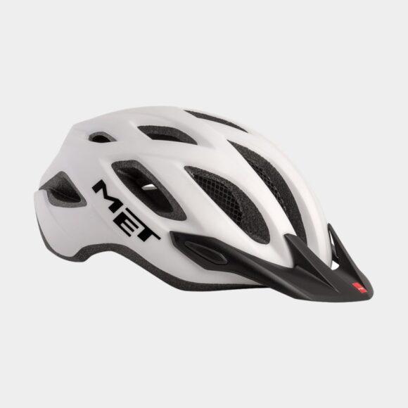 Cykelhjälm MET Crossover White/Matt, X-Large (60 - 64 cm)