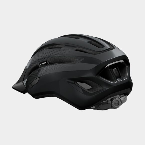Cykelhjälm MET Downtown Black/Glossy, Small / Medium (52 - 58 cm)