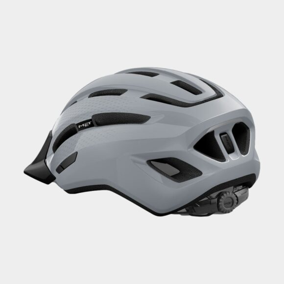 Cykelhjälm MET Downtown Grey/Glossy, Medium / Large (58 - 61 cm)