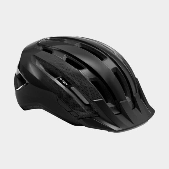 Cykelhjälm MET Downtown MIPS Black/Glossy, Small / Medium (52 - 58 cm)