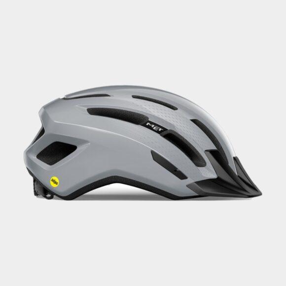 Cykelhjälm MET Downtown MIPS Grey/Glossy, Medium / Large (58 - 61 cm)