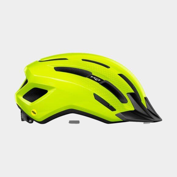 Cykelhjälm MET Downtown MIPS Safety Yellow/Glossy, Small / Medium (52 - 58 cm)