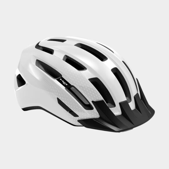Cykelhjälm MET Downtown White/Glossy, Small / Medium (52 - 58 cm)