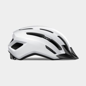 Cykelhjälm MET Downtown White/Glossy, Medium / Large (58 - 61 cm)