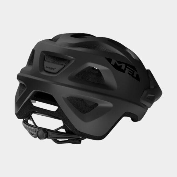 Cykelhjälm MET Echo Black/Matt, Medium / Large (57 - 60 cm)