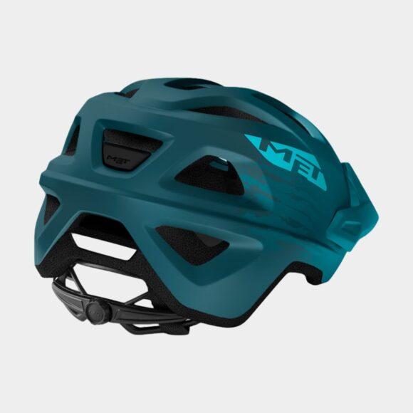 Cykelhjälm MET Echo Petrol Blue/Matt, Small / Medium (52 - 57 cm)