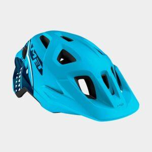 Cykelhjälm MET Eldar Blue Shark/Matt, Universal (52 - 57 cm)