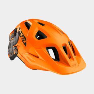 Cykelhjälm MET Eldar Orange Octopus/Matt, Universal (52 - 57 cm)