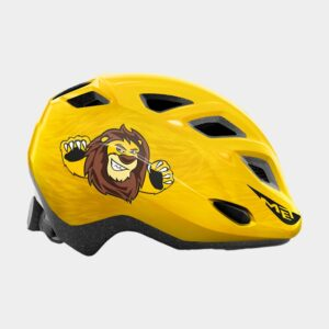 Cykelhjälm MET Elfo Yellow Lion/Glossy, Universal (46 - 53 cm)