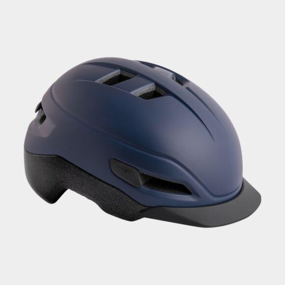 Cykelhjälm MET Grancorso Deep Blue/Matt/Reflective, Small (52 - 56 cm)