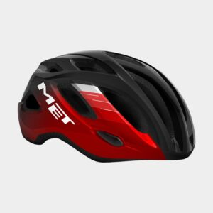 Cykelhjälm MET Idolo Black Metallic Red/Glossy, X-Large (60 - 64 cm)