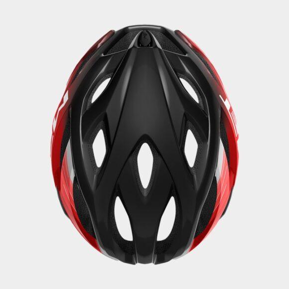 Cykelhjälm MET Idolo Black Metallic Red/Glossy, X-Large (60 - 64 cm)