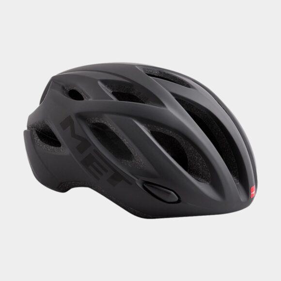 Cykelhjälm MET Idolo Black/Matt, Medium (52 - 59 cm)