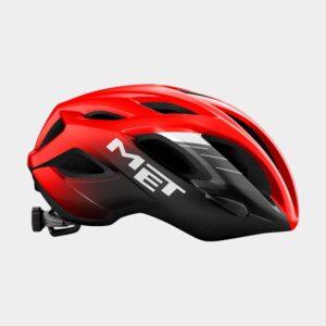 Cykelhjälm MET Idolo Red Black/Glossy, Medium (52 - 59 cm)