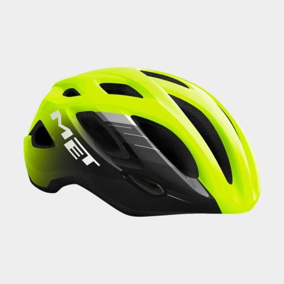 Cykelhjälm MET Idolo Safety Yellow Black/Glossy, Medium (52 - 59 cm)