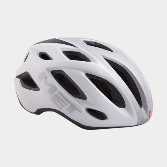 Cykelhjälm MET Idolo White Shaded Grey/Matt, Medium (52 - 59 cm)