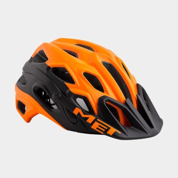 Cykelhjälm MET Lupo Orange Black/Matt, Medium (54 - 58 cm)