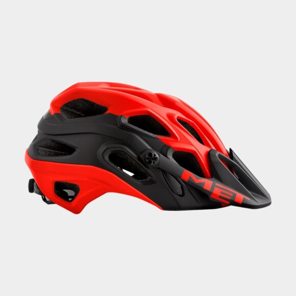 Cykelhjälm MET Lupo Red Black/Matt, Medium (54 - 58 cm)