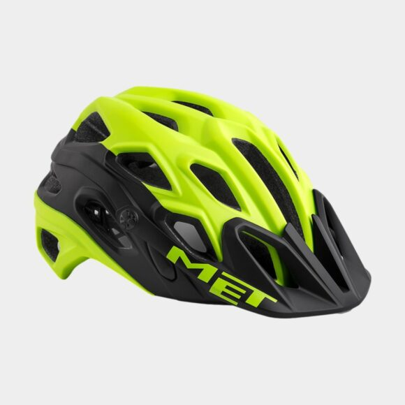 Cykelhjälm MET Lupo Safety Yellow Black/Matt, Medium (54 - 58 cm)