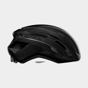 Cykelhjälm MET Miles Black/Glossy, Small / Medium (52 - 58 cm)