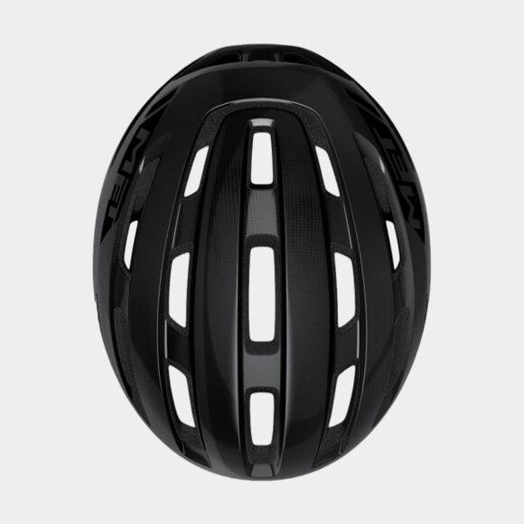 Cykelhjälm MET Miles Black/Glossy, Medium / Large (58 - 61 cm)