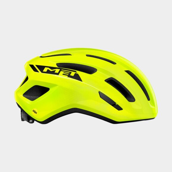 Cykelhjälm MET Miles MIPS Safety Yellow/Glossy, Small / Medium (52 - 58 cm)