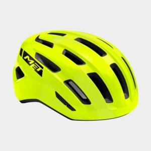 Cykelhjälm MET Miles Safety Yellow/Glossy, Medium / Large (58 - 61 cm)