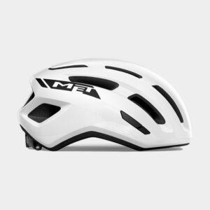 Cykelhjälm MET Miles White/Glossy, Medium / Large (58 - 61 cm)