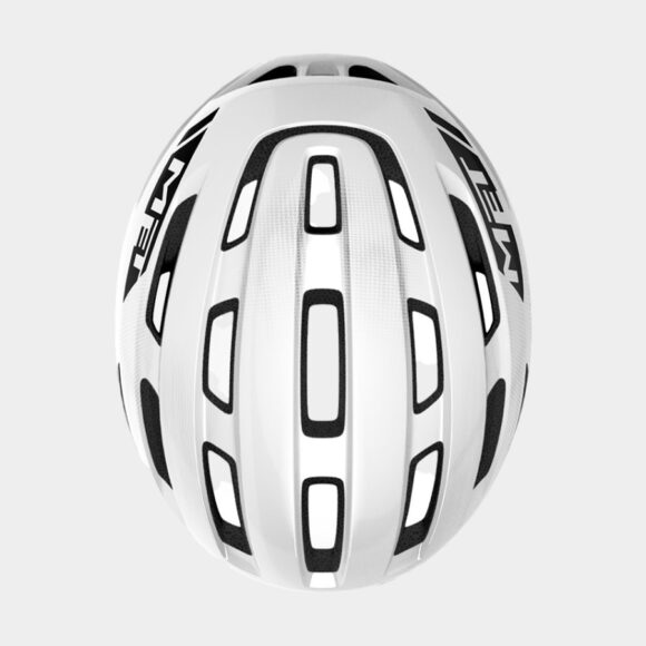 Cykelhjälm MET Miles White/Glossy, Small / Medium (52 - 58 cm)