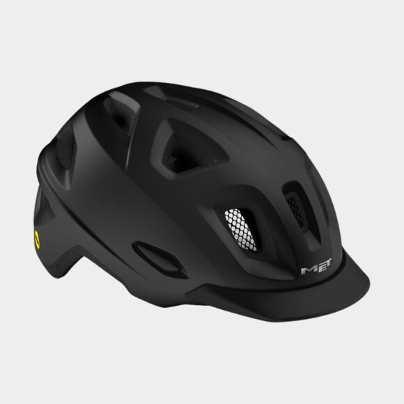 Cykelhjälm MET Mobilite MIPS Black/Matt, Medium / Large (57 - 60 cm)