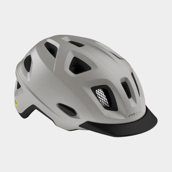 Cykelhjälm MET Mobilite MIPS Grey/Matt, Medium / Large (57 - 60 cm)