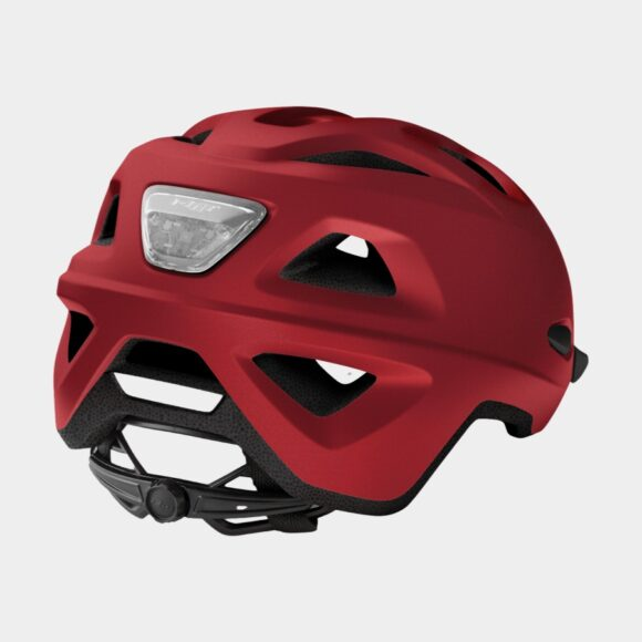 Cykelhjälm MET Mobilite Red/Matt, Small / Medium (52 - 57 cm)