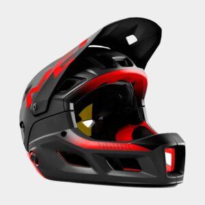 Cykelhjälm MET Parachute MCR MIPS Black Red/Matt Glossy, Large (58 - 61 cm)