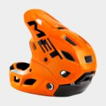Cykelhjälm MET Parachute MCR MIPS Orange Black/Glossy, Medium (56 - 58 cm)
