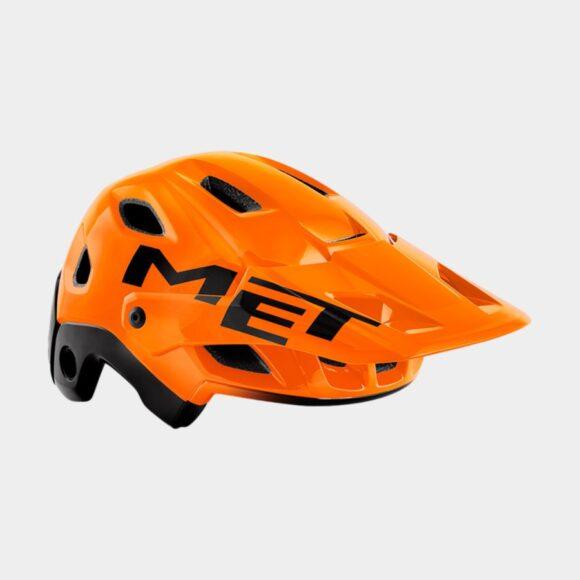 Cykelhjälm MET Parachute MCR MIPS Orange Black/Glossy, Large (58 - 61 cm)