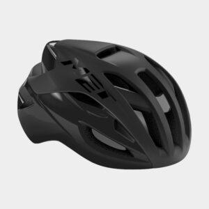 Cykelhjälm MET Rivale Black/Matt Glossy, Medium (56 - 58 cm)