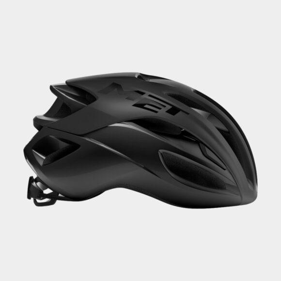 Cykelhjälm MET Rivale Black/Matt Glossy, Small (52 - 56 cm)