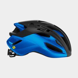 Cykelhjälm MET Rivale MIPS Black Blue/Matt Glossy, Medium (56 - 58 cm)