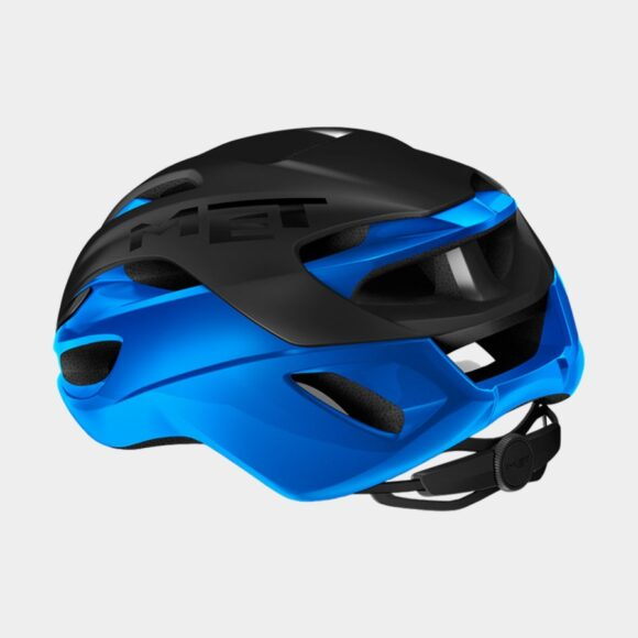 Cykelhjälm MET Rivale MIPS Black Blue/Matt Glossy, Large (58 - 61 cm)