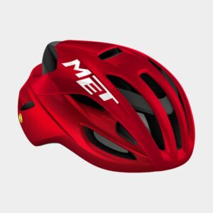 Cykelhjälm MET Rivale MIPS Black Red/Matt Glossy, Medium (56 - 58 cm)