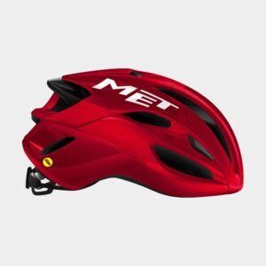 Cykelhjälm MET Rivale MIPS Black Red/Matt Glossy, Medium (56 - 58 cm)