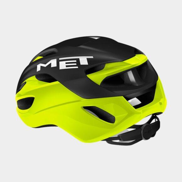Cykelhjälm MET Rivale MIPS Black Safety Yellow/Matt Glossy, Medium (56 - 58 cm)