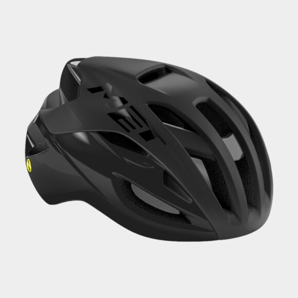 Cykelhjälm MET Rivale MIPS Black/Matt Glossy, Large (58 - 61 cm)