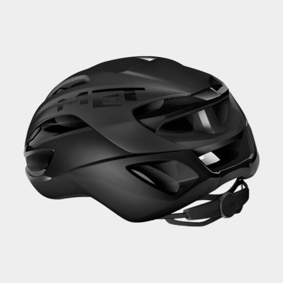 Cykelhjälm MET Rivale MIPS Black/Matt Glossy, Medium (56 - 58 cm)
