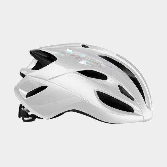Cykelhjälm MET Rivale White/Glossy, Large (58 - 61 cm)
