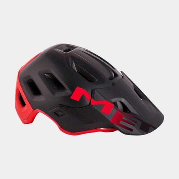 Cykelhjälm MET Roam MIPS Black Red/Matt Glossy, Small (52 - 56 cm)
