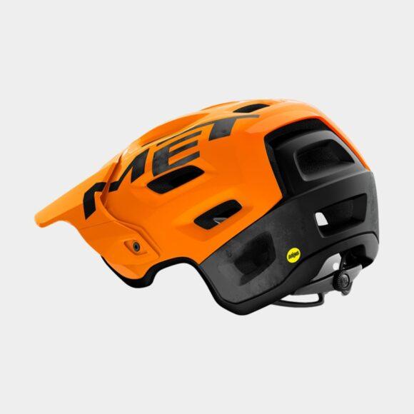 Cykelhjälm MET Roam MIPS Orange Black/Glossy Matt, Small (52 - 56 cm)