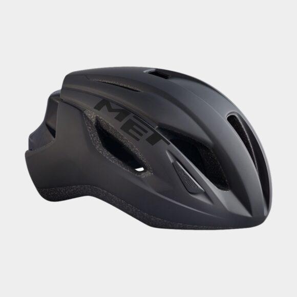Cykelhjälm MET Strale Black/Matt Glossy, Medium (56 - 58 cm)